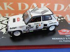 Die cast 1/43 Modellino Auto Renault 5 Turbo Rally Montecarlo 1984 J.L.Therier