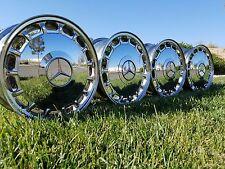 Mercedes W124 W201 6.5x15 OEM Chrome Wheels Rims E190 300E E320 190E 15 HOLE 2.3