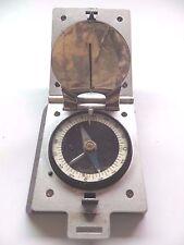 vintage Marsh Kompass,D.R.P. scarce hinged box flip open compass