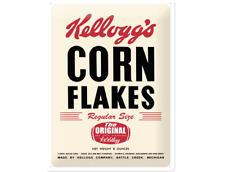Tôle plaque 23131-Kellogg 's Corn Flakes rétro - 30 x 40 CM-NEUF