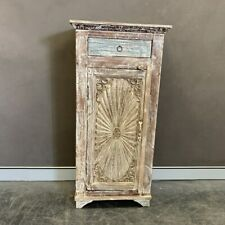 NEW 1 drawer carved cupboard