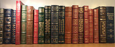 EASTON PRESS AND FRANKLIN LIBRARY RANDOM VOLUMES X18 Full Leather Light Wear Scu