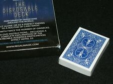 Disposable Deck -- David Regal  (version 2, BLUE bicycle)  with DVD         TMGS