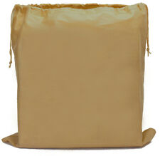 NUDE Dust Bag for Leather Handbags, Shoes, Belts, Gloves, Acc., Drawstring LARGE