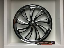 "09 up Harley Davidson 17"" Rear Wheel Custom Chrome Wheel Style 119c"