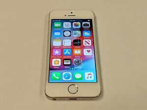 Apple iPhone 5s A1533 16GB AT&T Wireless White/Silver Smartphone/Cell Phone