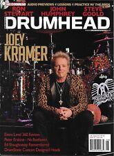 Drumhead Music Magazine Joey Kramer Ron Stewart John Humphrey Steve Goold 2013