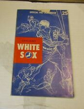 1967 Chicago White Sox Washington Senators Baseball Program Gil Hodges Ed Stanky
