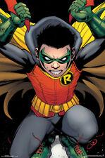 Robin Damian Wayne Comic Book Art Poster 22x34 inch