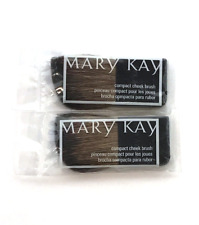 MARY KAY COMPACT CHEEK BLUSH BRUSH~LOT OF 2~NEW IN PACKAGE~SEALED!
