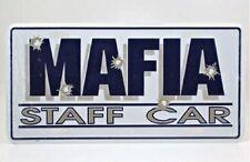 MAFIA STAFF CAR LICENSE PLATE TAG - SHIPS FREE