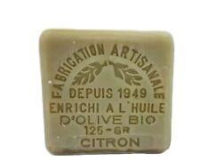Savon de Marseille citron et enrichit à l'huile d'olive bio 125 gr