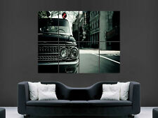 VINTAGE CLASSIC POLICE CAR  ART WALL LARGE IMAGE GIANT POSTER