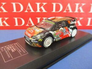 Die cast 1/43 Modellino Auto Citroen DS3 WRC Rally Monte Carlo 2015 Chardonnet