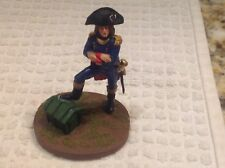 Tin Toy Soldier French Emperor Napoleon Bonaparte Metal 70mm Hand Painted