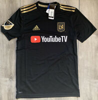 NWT Adidas LAFC 2019 Primary Black Replica Jersey Men's Size Small MLS Climalite