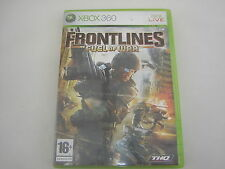 XBOX 360 Frontlines : Fuel of War