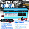 5000W Power Inverter DC12V/24V/48V to AC 220V Modified Sine Wave Converter
