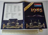 1985 Vintage Monogram USA Plastic Kit Catalogue - Cars Aeroplanes Ships etc