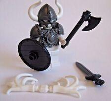 Custom VIKING WARRIOR ARMOR & WEAPON PACK for Lego Minifigures