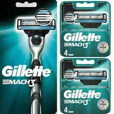 Rasoir Gillette Mach3 + 11 Recharges de lames de rasoir
