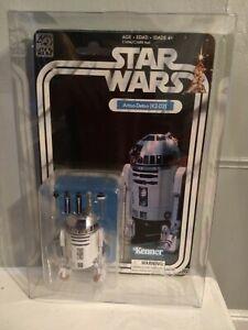 "🚀2017 STAR WARS THE BLACK SERIES 6"" INCH 40th ANNIVERSARY WAVE 1 R2-D2 w/ CASE"