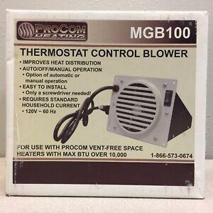 Procom MGB100 300 sq. ft. 10000 BTU Wall Heater Blower