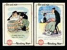 2 Reklame-Karten Binding Bier (T7)