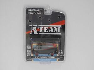 "1:64 B.A.'s 1983 GMC Vandura ""The A Team"" Greenlight 44790-B"