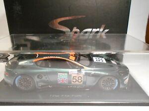 Spark (S2404) - 1/24 Scale - Aston Martin - DBR9 - Le Mans - 2005 - #58 - w/B