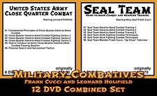 Us Army & Navy Seal Combatives with Frank Cucci & Leonard Holifield (12 Dvd Set)