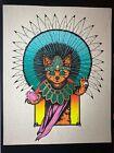 Jermaine Rogers - Aztec Cat - Gatito Sacerdote Azteca - parchment