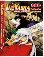 DVD Anime Inuyasha The Final Act 1-26 End + 4 Movies English Dubbed