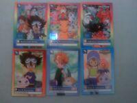 1999 Upper Deck Bandai Digimon Complete 34 Card Set ( NM )