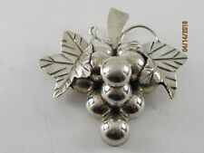 Sterling Silver Grape Pendant........UGLY Thing