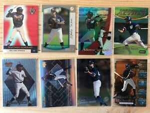 Alfonso Soriano Lot 8 cartes MLB Baseball Rc NY Yankees