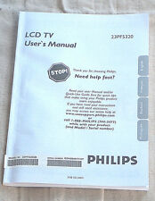 philips tv video home audio manuals in french ebay rh ebay com Instruction Manual Book Bissell PowerSteamer User Manual