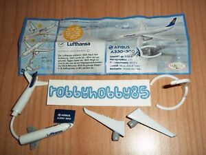 DC093 D AEREO LUFTHANSA + BPZ KINDER SORPRESA GERMANIA 2013/2014 AIRBUS A330-300