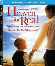 HEAVEN IS FOR REAL DVD + BLU-RAY