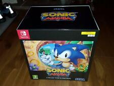 NEW SONIC MANIA COLLECTORS LIMITED EDITION NINTENDO SWITCH mega drive statue