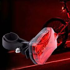 5 LED Bicycle Rear Safety Flashlight Taillight Torch Light Lamp Hot GH