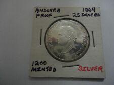 Andorra 1964 25 Diners X-M4