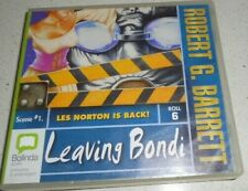 ROBERT G. BARRETT - LEAVING BONDI  - AUDIO BOOK -  7 CDs
