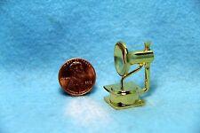 Dollhouse Miniature Gramophone in Brass ~ Cute Accessory ~ BL087