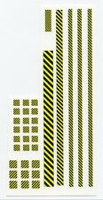 Battletech miniatures Clan and IS Insignia decals- Caution tape