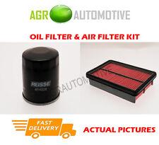 PETROL SERVICE KIT OIL AIR FILTER FOR MAZDA 323F 1.5 88 BHP 1998-01
