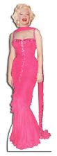 SC-272 Marilyn Monroe Pink Dress Lebensgroß Aufsteller Pappaufsteller