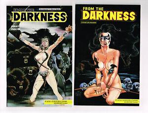 FROM THE DARKNESS #1-4 ADVENTURE COMICS 1990 NM OB JIM BALENT ART HORROR