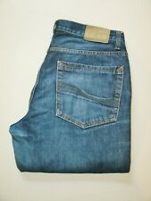 U.S. POLO ASSN. Logo Mens Blue Denim Jeans W 33 L 32 Straight 100% Cotton