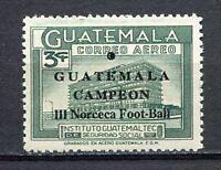 "37312) GUATEMALA 1967 MNH** ovptd ""Guatemala Campeon"" 1v"
